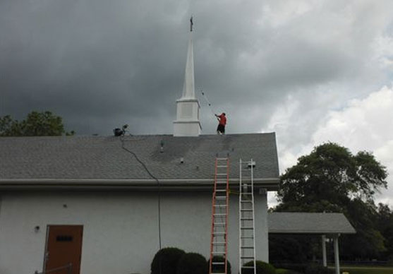 professional roof cleaning trinity fl