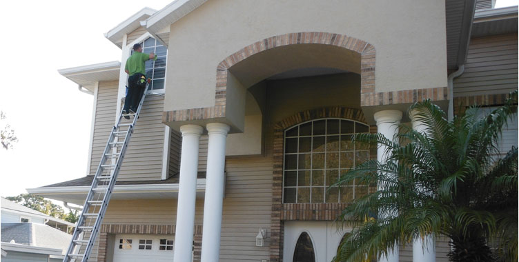 professional window cleaning trinity fl